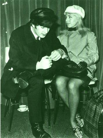 John and Cyn in 1964.